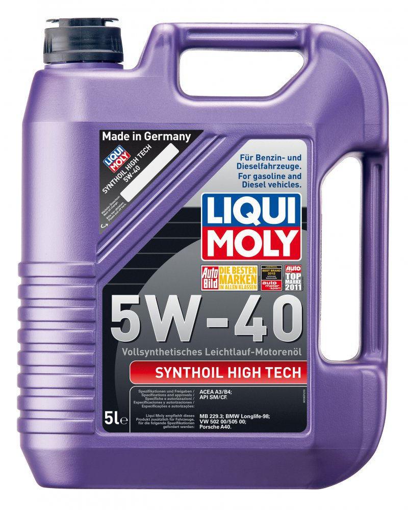 Liqui Moly Synthoil High Tech 5w40 5л