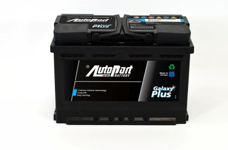 AutoPart Galaxy Plus 75 а/ч 6CT-75 н